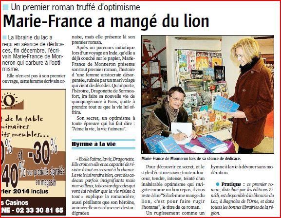 Le Publicateur Libre - janvier 2014