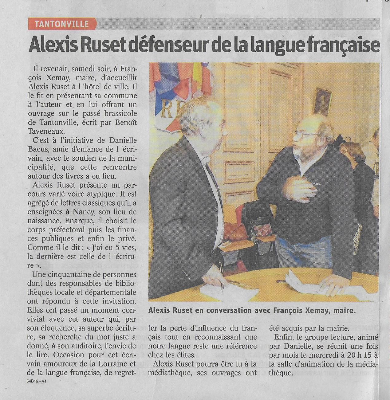 L'Est Républicain du 22/03/2018