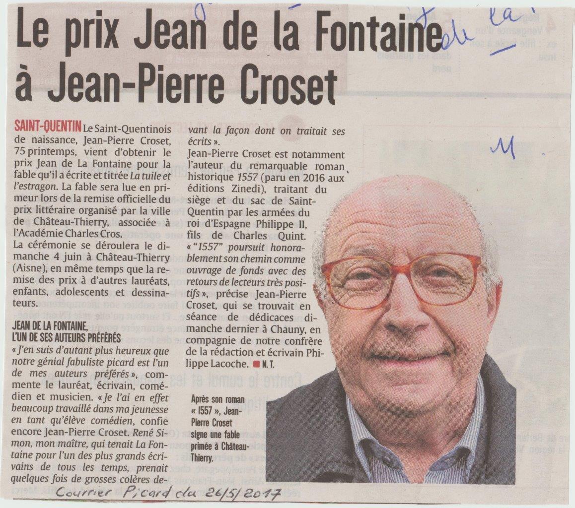 Le Courrier Picard 27/05/2017