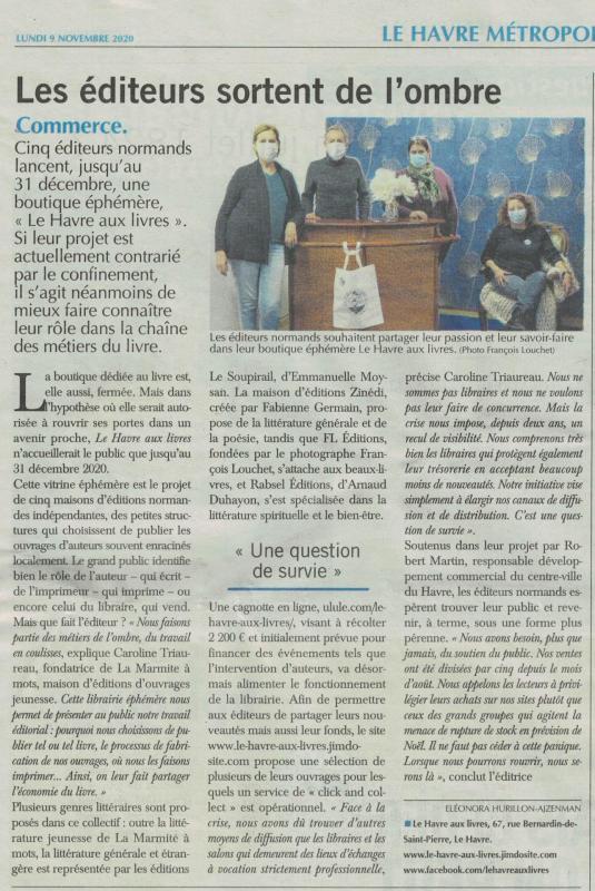201109 paris normandie le havre aux livres
